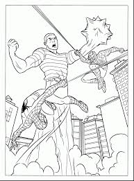 superb spider man venom coloring pages spiderman color