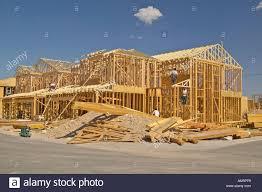 new homes northwest las vegas suburban desert sprawl in the las vegas suburb of summerlin stock