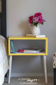 Diy Side Table Remodelaholic Build A Diy Mid Century Modern Side Table And