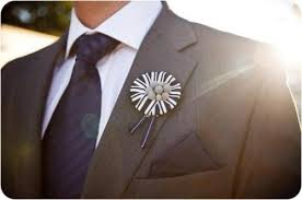 Groom S Boutonniere 21 Creative Non Floral Boutonnieres For Grooms And Groomsmen