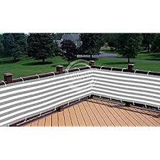 amazon com koval inc green and white privacy screen for