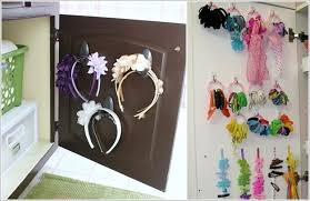 organize hair accessories 15 clever ways to organize with hooks