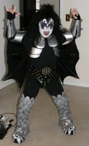 Halloween Costumes Kiss Gene Simmons Destroyer Costume 13 Steps Pictures
