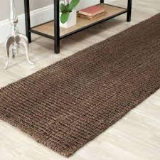 Flat Woven Runner Rugs Dark Brown Flat Woven Area Rugs Rugs The Home Depot
