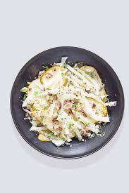 cuisiner la poir recette salade de fenouil aux poires