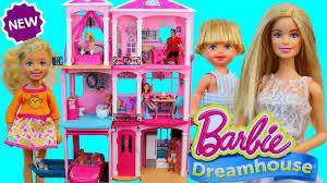 barbie dreamhouse dollhouse for 2017 3 story barbie doll dream