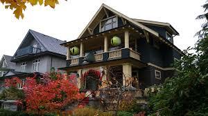 vancouver home raises the creativity bar for halloween decor