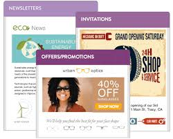 Use VerticalResponse to create email newsletters  promotional emails  and invitations