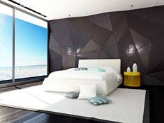 Gray Modern Bedroom Bedroom Grey Wallpaper Bedroom Textured In Squares Chequered With