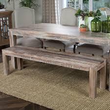 mistana arakaki wood bench u0026 reviews wayfair