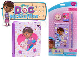doc mcstuffins from disney junior diary and stationery set toy