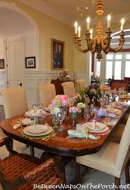 Easter Kitchen Table Decor by 21 Best Spring Tables Images On Pinterest Tablescapes Spring