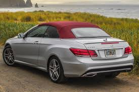 mercedes e350 convertible used 2016 mercedes e class convertible pricing for sale edmunds