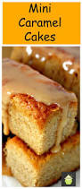 mini caramel cakes soft and moist and oh so delicious make in a