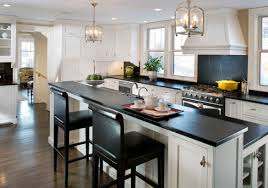two tone kitchen cabinets with black countertops white kitchen cabinets with black countertops walls and