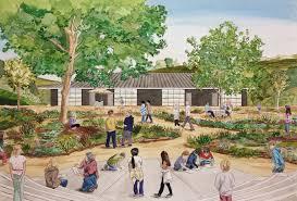 johnny king design lux art institute u0027s education pavilion