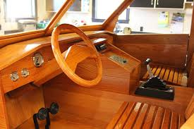 Wooden Interior by Custom Built All Wood Ford Pickup Truck