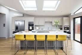 galley kitchen extension ideas a contemporary kitchen extension filled with light