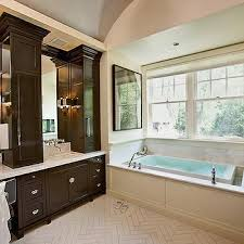 chocolate brown bathroom ideas brown cabinets design ideas