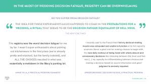 places to do a wedding registry a look into the world of the wedding registry