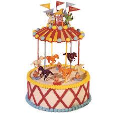 carousel cake wilton