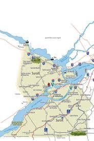 St Lawrence River Map Maps Tourisme Montérégie Tourisme Montérégie