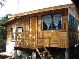 getting fun life in astounding bamboo house design and small