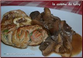 cuisine de lilly cuisiner les pleurottes unique jarret de veau aux pleurotes la