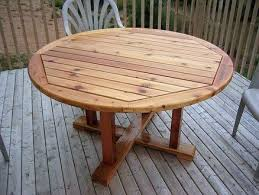 round wood patio table how about a round table that seats 6 for only 110 i knew that i