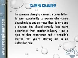 what is job covering letter