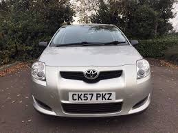 2007 57 toyota auris 1 4 d 4d t2 77 000 miles immaculate full