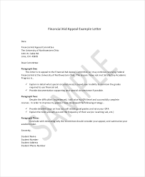 appeal letter example 11 free word pdf documents download