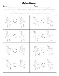 First Grade Math Printable Worksheets Two First Grade Math Worksheets U2013 The Nutcracker Theme U2013 Miniature