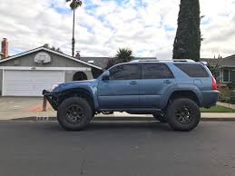 toyota 4runner lifted new wheels with a little face lift on my 4th gen 4runner