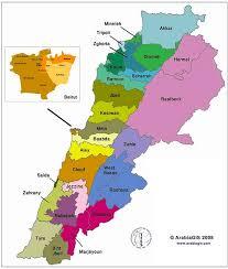 lebanon on the map 1960 electoral map lebanon moulahazat