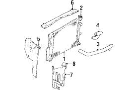 2003 dodge durango radiator parts com dodge durango radiator components oem parts