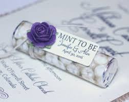 purple wedding favors purple wedding favors mint to be wedding favors with