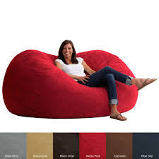 relax in the comfortable fufsack bean bag chair available in a