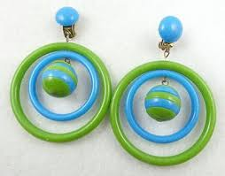 earrings hong kong hong kong blue green hoop earrings garden party collection