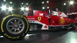 ferrari prototype 2016 ferrari present the sf16 h in red and white