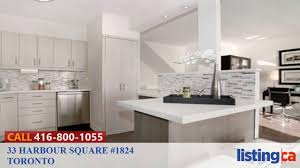 33 harbour square 1824 toronto listing ca youtube
