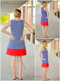 Pattern A Line Shift Dress | a line shift dress by jocole pattern revolution