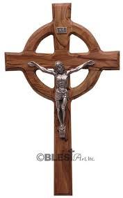 celtic crucifix celtic crucifix 11 8 30 cm blest inc