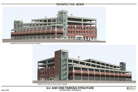 new downtown la crosse ramp to host commercial space 605 parking collins parking ramp rendering