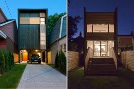 narrow homes toronto s shaft house maximizes space daylight on a snug 20 ft