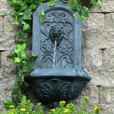 Patio Fountains Diy by Sunnydaze Decorative Lion Outdoor Wall Fountain