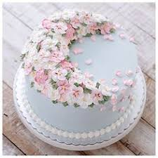 wedding cake medan happy birthday colorful flower cake with your name print name on