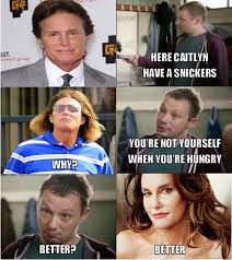 Snickers Commercial Meme - caitlyn you need a snickers lgbt