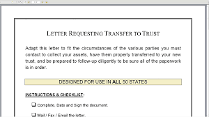 Sample Letter Of Intent For Job by Letter Requesting Transfer To Trust Youtube