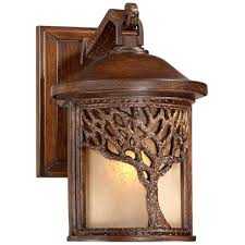 mission style outdoor wall light bronze mission style tree 9 1 2 high outdoor wall light style